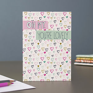 Romantic Or Valentine's Blank Greetings Card