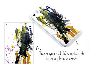 Personalised Child's Drawing Case For iPhone