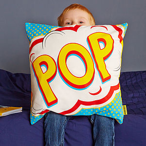 Pop Pop Art Cushion - soft furnishings & accessories