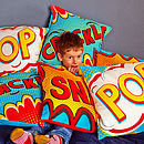 Pop Pop Art Cushion