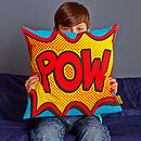 Pow Comic Book Cushion