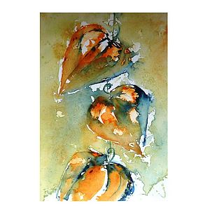 Chinese Lanterns Original Painting - home accessories