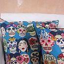Frida Kahlo, The Dance Cushion Cover