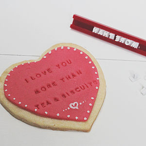 Make Your Own Edible Card Kit - baking kits