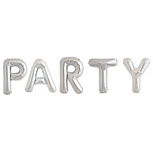 Party 16 Inch Balloon Letters - outdoor decorations