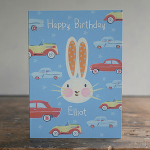Boys Easter Or Birthday Card - children's birthday cards