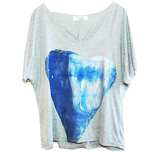 Blue Wave Tee - tops & t-shirts