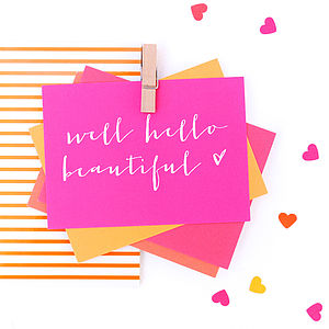 Mini 'Love' Notecards