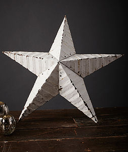 22' Amish Tin Star - decorative accessories