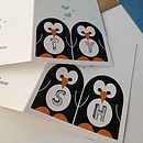 Mr And Mrs Penguin Wedding And Valentines Card
