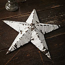 Thumb amish tin barn star