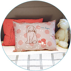 Little Rabbit Cushion