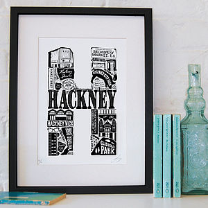 Best Of Hackney Screenprint - posters & prints