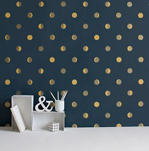 Moon Crescents Wallpaper - children's room
