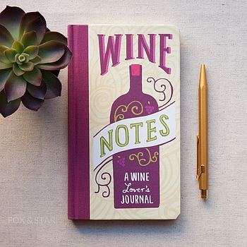 'Wine Notes' Journal