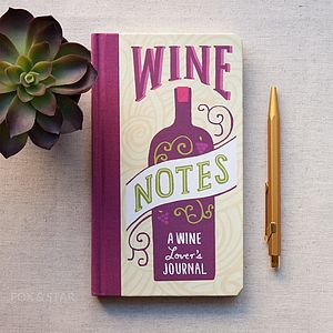 'Wine Notes' Journal - office & study