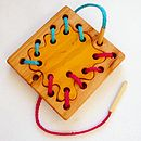 Tailor Set Wooden Montessori Lacing Toy