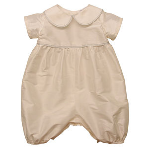 Silk Romper - babygrows