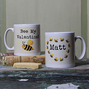 Personalised Bee Mug - tableware