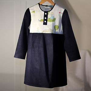 Girls Dress Meadow Stroll Organic Tunic Dress