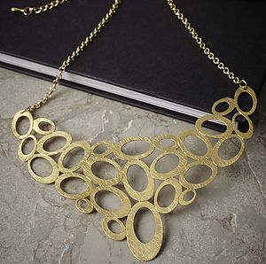 Gold Circles Necklace
