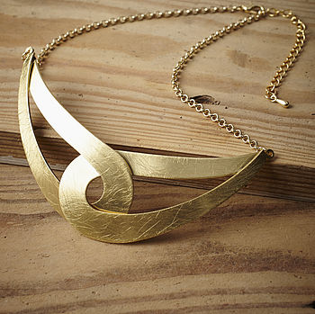 Gold Interlink Necklace