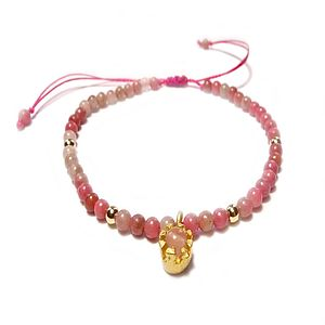 Love Catcher Rose Quartz Bracelet - women's jewellery