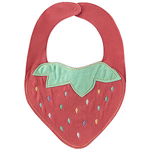 Strawberry Bib - bibs