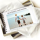 Personalised Dad Album