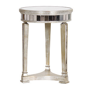 Antiqued Venetian Side Table - side tables