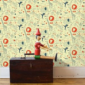 Circus Wallpaper - children's room