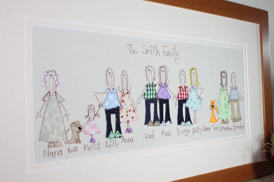 Personalized Family Tree Paintings Defendbigbird Com