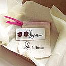 Blackcurrant Rose Stud Earrings
