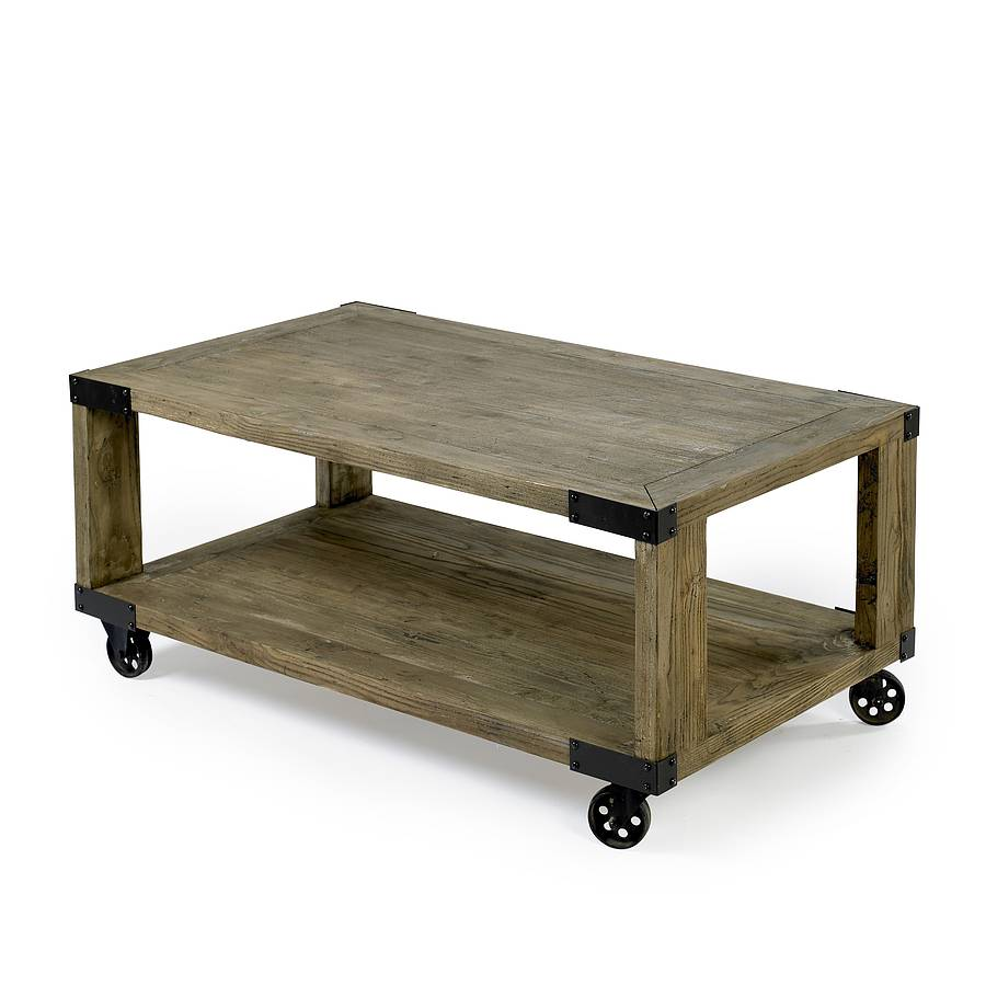 Industrial Coffee Table By Out There Interiors
