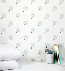 Parisian Dandelions Wallpaper - children's room
