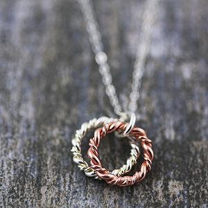 Eternity Love Knot Necklace - necklaces & pendants