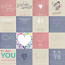 J and S Jewellery love & Sentiment cards