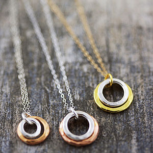 Eternity Circles In Mixed Metal - on trend: mixed metals