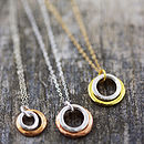 Eternity Circles In Mixed Metal