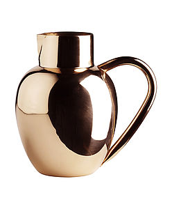 Copper Lassi Jug - dining room