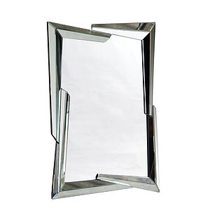Angular Venetian Mirror