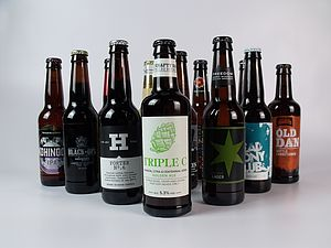 Case Of 12 British Craft Beers