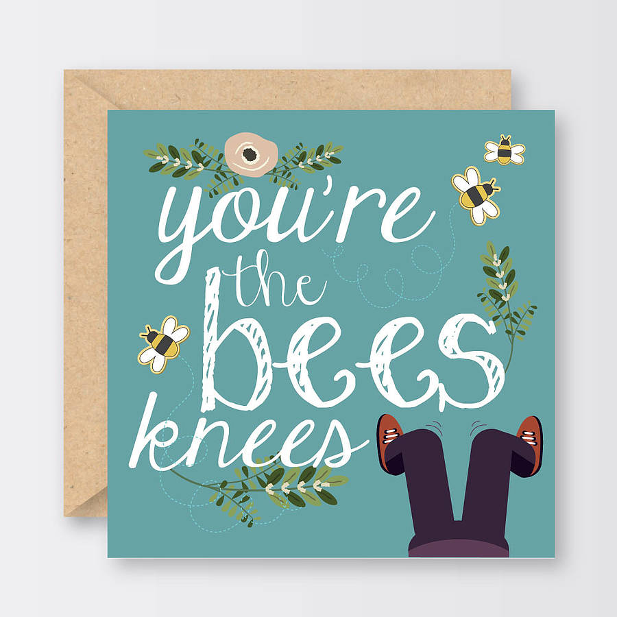 You're the Bee's Knees Valentine's Day Printable - A ...  |The Bees Knees Valentine
