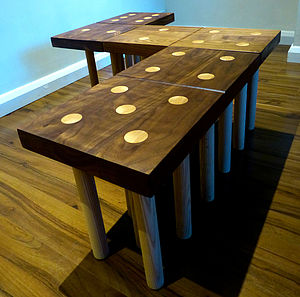 Domino Coffee Tables Or Nest Of Tables - side tables