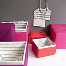 Personalised Secret Message Box