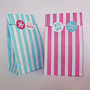 Pick 'N' Mix Style Party Bags And Stickers