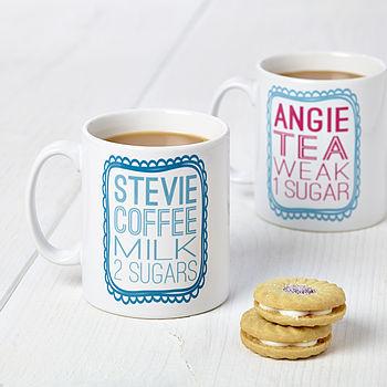 Personalised Drink Mug