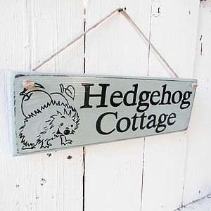 House Sign With Artwork - room decorations