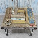 Bespoke Driftwood Side Table