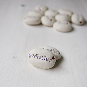 'Godfather' Gift Pebble